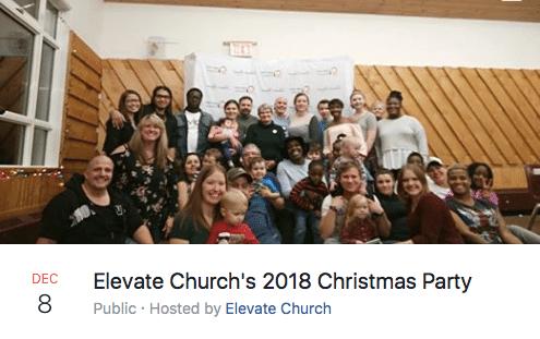 Elevate Christmas Party 2018